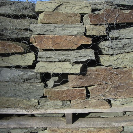 COLONIAL BLUE WALL 2-4 INCH STONE