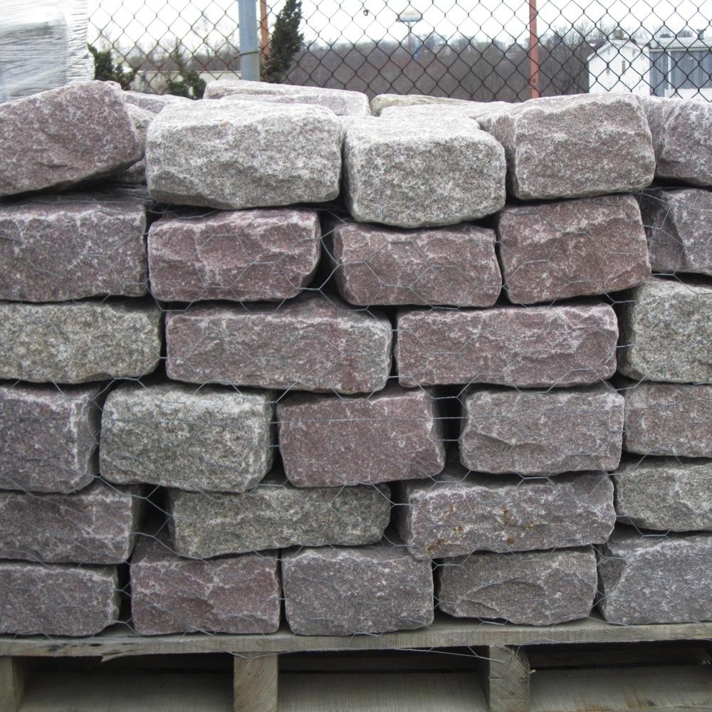 Granite Block Home : Masonry depot new york pink jumbo belgium block