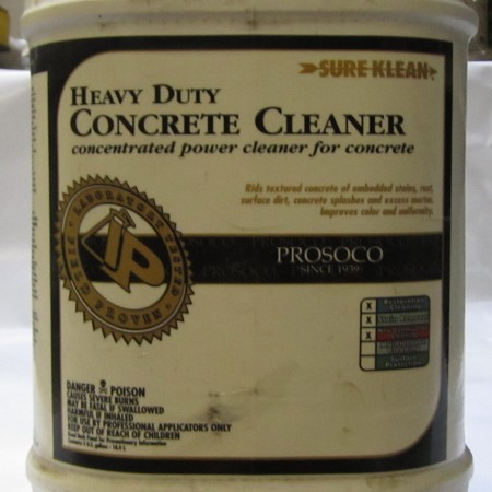 HD CONCRETE CLEANER