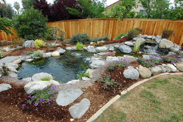 Masonry depot new york pond supplies for Fish pond decorations