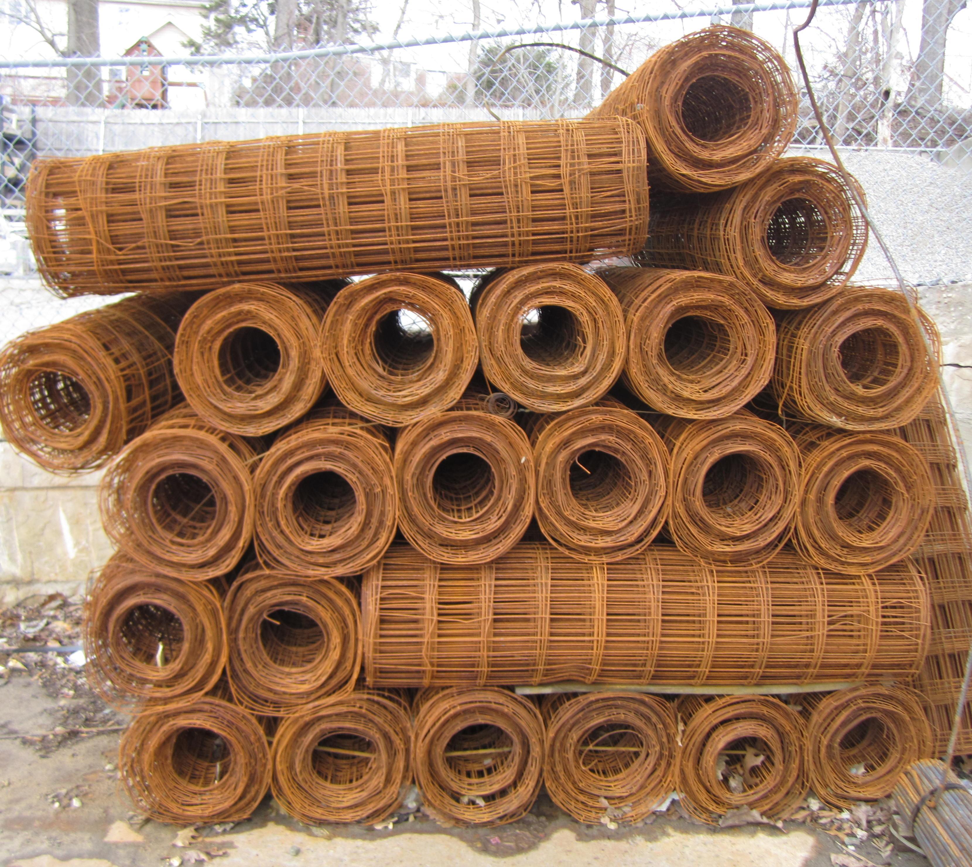 Rolls In Cement : Masonry depot new york concrete wire mesh light