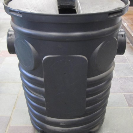 SUMP PUMP WELL & LID