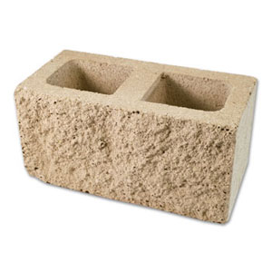 Masonry depot new york split face block for Split face block house