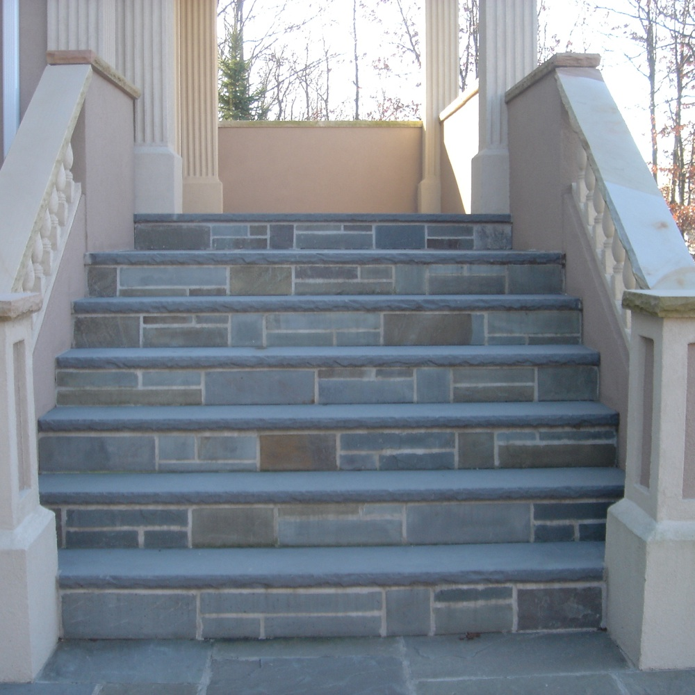 Bluestone Treads Steps