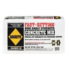 Masonry Depot New York   Fast Setting Concrete Mix